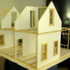 Thumbnail image for Mike's 1:12 Stick Built Hollow Wall Dollhouse