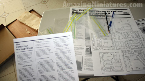 Reading the Greenleaf Coventry Cottage Instructions
