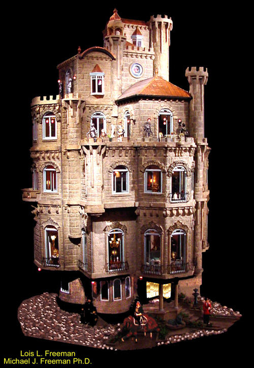 Freeman Castle Dollhouse