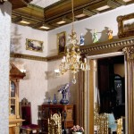 The Dining Room in the Freeman's Dollhouse Castle