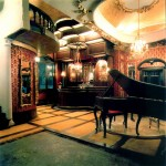 The Grand Piano Room from the Freeman's Dollhouse Castle