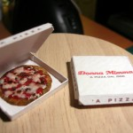 Marcella Perodo's Miniature Delivery Pizza