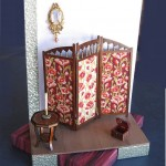 Maria Armanda's miniature screen set