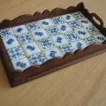 Maria Armanda's miniature tiled tray