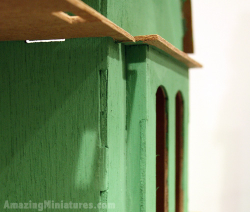 coventry cottage's bad paint job gaps