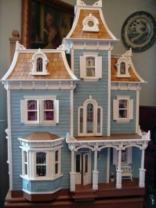 Beacon Hill Dollhouse by Wendy Elaine