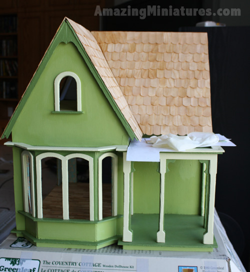 Coventry Cottage Dollhouse Project Part 11: Finishing The