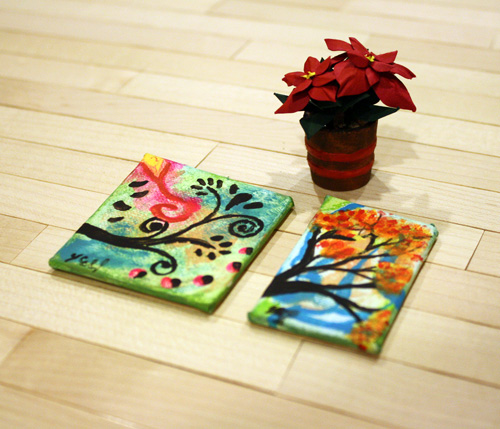 Lyssa's Mini Paintings!
