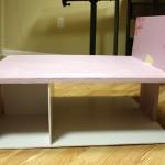 Dry Fitting the Nyne Styrofoam Modern Dollhouse