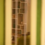 Looking through the dollhouse window