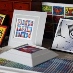 Custom Miniature Modern Artwork Framing Project