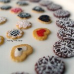 Piped Cookies by Snowfern Clover (Snowfern.com)