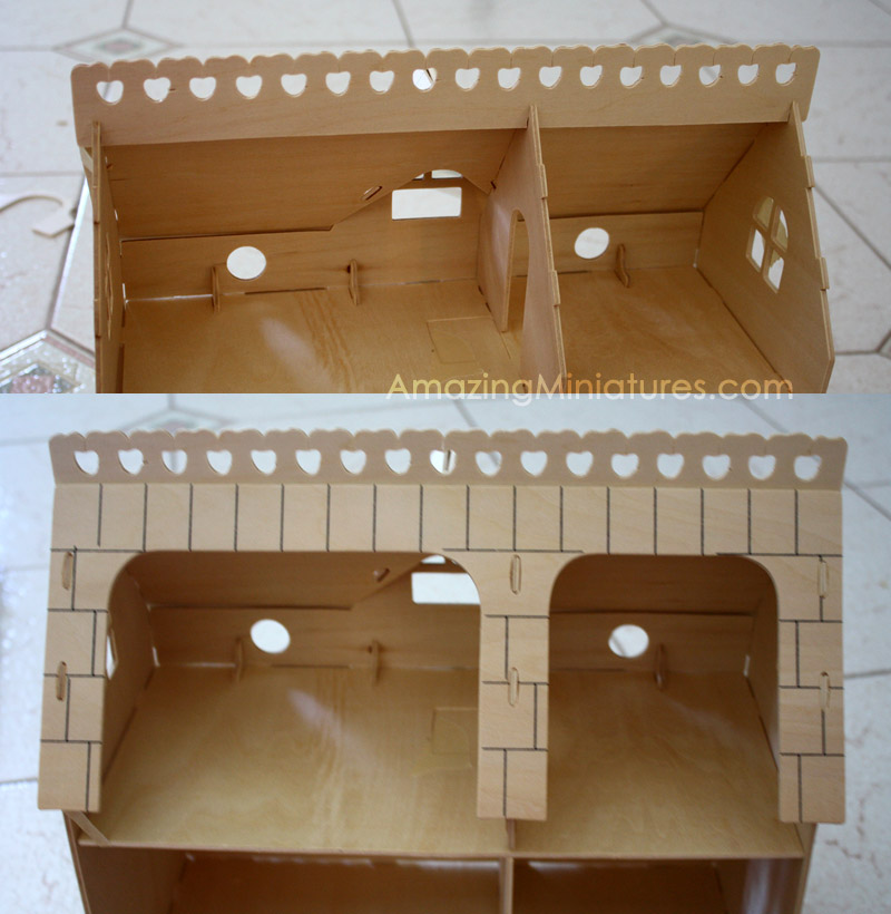 Creatology Dollhouse With Veranda Pictorial Instructions