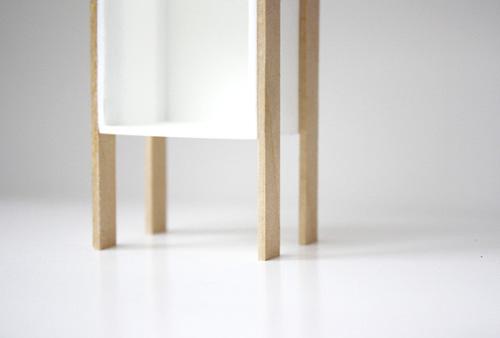 Cube Cubby, Modern Dollhouse Furniture