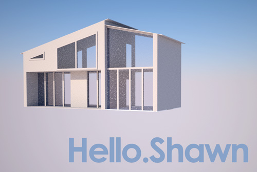 Hello.Shawn House Prototype Preview Renders
