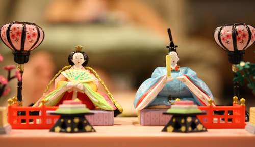 Miniature Hinamatsuri Doll Set by Re-Ment