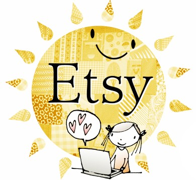 Etsy illustrated Logo Finally Catching my Breath